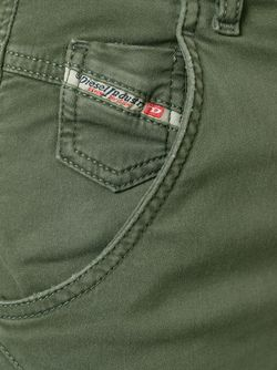 Укороченные Джинсы Diesel                                                                                                              зелёный цвет