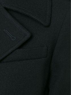 Пальто С Поясом Saint Laurent                                                                                                              чёрный цвет