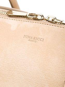 Сумка-Тоут С Двусторонней Молнией Nina Ricci                                                                                                              Nude & Neutrals цвет