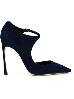 Туфли На Шпильке Sergio Rossi                                                                                                              синий цвет