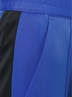 Спортивные Брюки С Лампасами MSGM                                                                                                              синий цвет