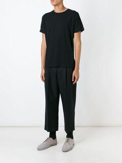 Футболка Comme Des Garçons Shirt X Sunspel Comme Des Garcons                                                                                                              чёрный цвет