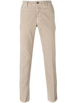 Slim Chino Trousers Incotex                                                                                                              Nude & Neutrals цвет