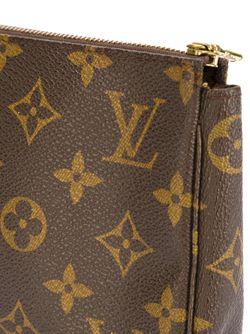 Сумка-Клатч С Логотипом LOUIS VUITTON VINTAGE                                                                                                              коричневый цвет