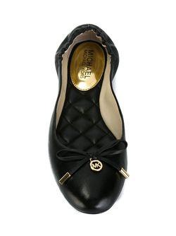 Melody Ballerinas Michael Michael Kors                                                                                                              черный цвет