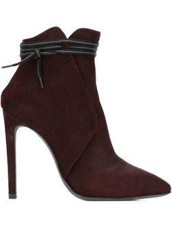 Stiletto Booties A.F.Vandevorst                                                                                                              красный цвет
