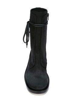 Сапоги До Середины Голени A.F.Vandevorst                                                                                                              чёрный цвет