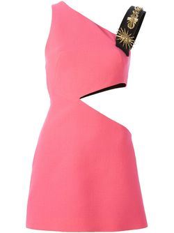 Cut-Out Appliqué Sheath Dress Fausto Puglisi                                                                                                              розовый цвет