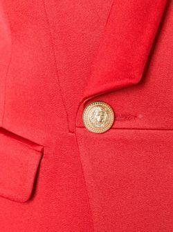 Tuxedo Blazer Balmain                                                                                                              красный цвет
