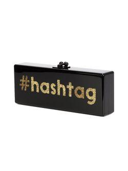 Клатч-Футляр Hashtag EDIE PARKER                                                                                                              черный цвет