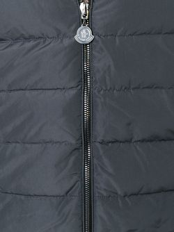 Fur Collar Cardigan Moncler                                                                                                              серый цвет