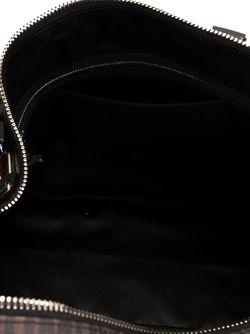 Дорожная Сумка С Самоцветами И Монограммным Узором Moschino                                                                                                              коричневый цвет