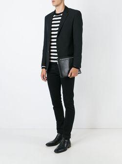 Маленький Клатч Saint Laurent                                                                                                              чёрный цвет