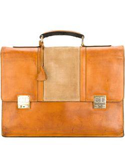 Buckle Briefcase Christian Dior Vintage                                                                                                              None цвет