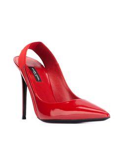 Туфли Virginie Philippe Model                                                                                                              красный цвет