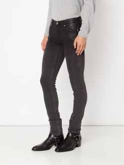 Coated Detail Skinny Jeans Blk Dnm                                                                                                              черный цвет