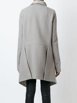 Пальто Saturn Lapes Rick Owens                                                                                                              серый цвет