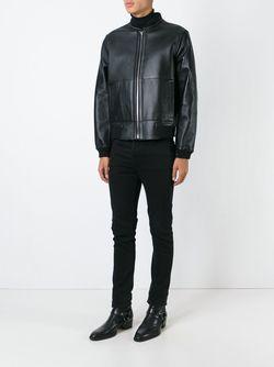 Reversible Bomber Jacket Roberto Cavalli                                                                                                              черный цвет