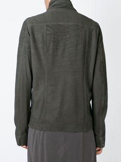 Куртка Geo Rick Owens                                                                                                              серый цвет
