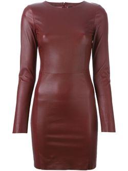 Облегающее Короткое Платье Drome                                                                                                              красный цвет