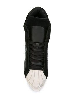 Хайтопы На Танкетке adidas Originals                                                                                                              черный цвет