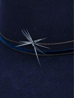 Drake Hat GIGI BURRIS MILLINERY                                                                                                              синий цвет