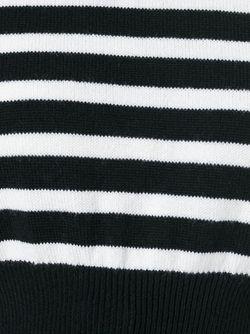 Комбинированная Рубашка С Полосатой Безрукавкой Ermanno Scervino                                                                                                              Nude & Neutrals цвет