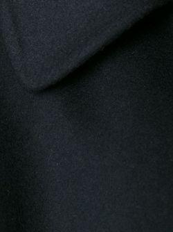 Однобортное Пальто С Рукавами 3/4 Ermanno Scervino                                                                                                              чёрный цвет