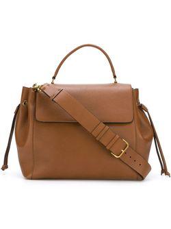 Классическая Сумка-Тоут Lanvin                                                                                                              коричневый цвет