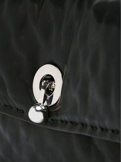 Сумка-Тоут С Цепочной Ручкой Ermanno Scervino                                                                                                              чёрный цвет