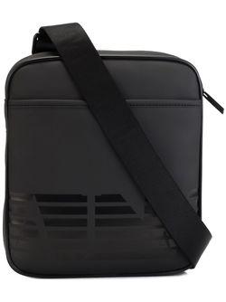 Сумка-Почтальонка С Логотипом ARMANI JEANS                                                                                                              чёрный цвет