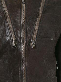 Куртка На Молнии Giorgio Brato                                                                                                              коричневый цвет