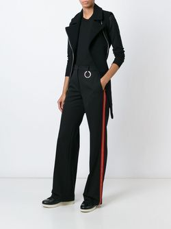 Contrasted Stripe Trousers Ports                                                                                                              чёрный цвет