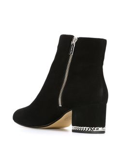 Chain Block Heel Boots Michael Michael Kors                                                                                                              чёрный цвет