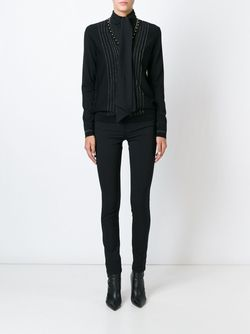 Skinny Trousers Roberto Cavalli                                                                                                              черный цвет