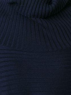 Асимметричный Свитер В Рубчик Maison Margiela                                                                                                              синий цвет