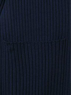 Драпированный Кардиган Каскадного Кроя Maison Margiela                                                                                                              синий цвет