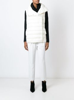 Дутый Жилет Ralph Lauren Black Label                                                                                                              белый цвет