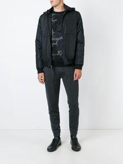 Дутая Куртка С Капюшоном Michael Kors                                                                                                              чёрный цвет