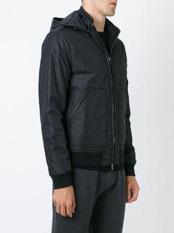 Дутая Куртка С Капюшоном Michael Kors                                                                                                              черный цвет