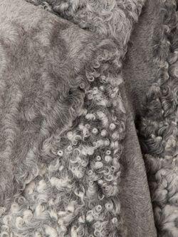 Полушубок Из Каракуля Proenza Schouler                                                                                                              серый цвет