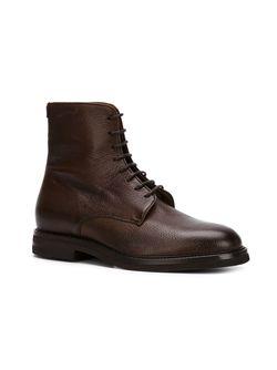 Ботинки На Шнуровке Brunello Cucinelli                                                                                                              коричневый цвет