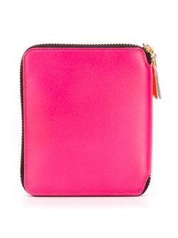 Кошелек С Круговой Застежкой-Молнией Comme Des Garcons                                                                                                              розовый цвет