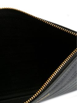 Кошелек Для Монет С Простроченным Узором Comme Des Garcons                                                                                                              чёрный цвет