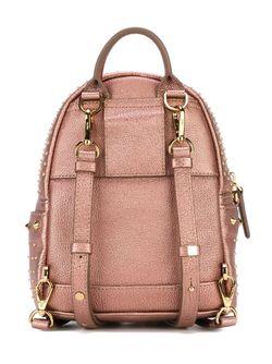 Декорированный Рюкзак С Заклепками MCM                                                                                                              розовый цвет