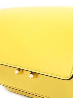 Сумка На Плечо Metal Trunk Marni                                                                                                              желтый цвет