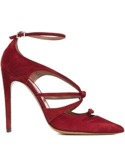 Туфли Bow Tabitha Simmons                                                                                                              красный цвет