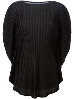 Flutter Sleeve Pleated Top PLEATS PLEASE BY ISSEY MIYAKE                                                                                                              None цвет