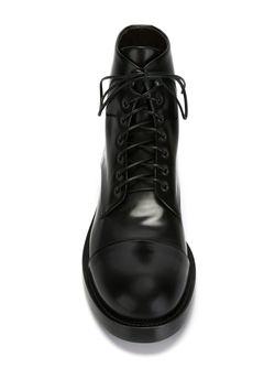 Ботинки На Шнуровке Raparo                                                                                                              чёрный цвет