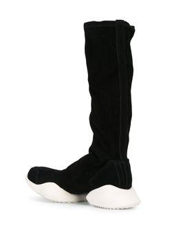 Сапоги Tech Runner X Adidas Rick Owens                                                                                                              чёрный цвет
